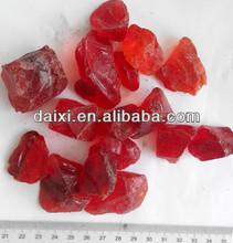 large red ornamental landscaping decorative rocks