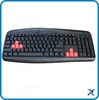 cheapest factory price the best standard usb multimedia keyboard wired keyboard with high quality