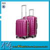 Colorful travel luggage trolley