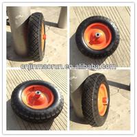 steel rim of pneumatic wheel 3.50-8