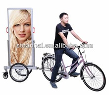 J4A-120 New advertising bicycle trailer for National Day promotion