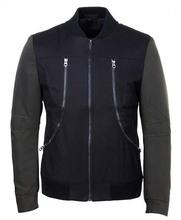 Man's fashion zipper casual jackets