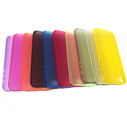 for iphone case 0.5mm or 0.3mm Ultra thin mobile phone case for iphone 5S case, for iphone 5 case Factory cheap price 10 colors