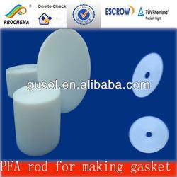 PFA rod for making PFA gasket