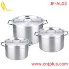 JP-AL03 Best Melting Large Stock Cookware Cooking Aluminum Pots