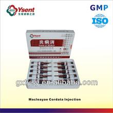 Advanced Importer Veterinary Pharmaceutical Drugs for Macleayae Cordata Injection