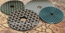 Diamond Polishing Pads/Hand Grinder Polishing Disk Dry or Wet Use