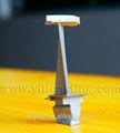de alta calidad de aleación de níquel de la turbina de la hoja