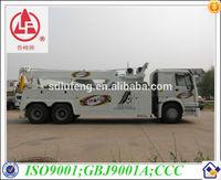 Foton 20 ton heavy duty rotator wrecker towing truck for sale