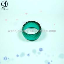 Pretty circular cubic zirconia CZ Gemstone Ring jewelry