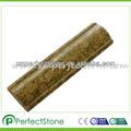 Punto verde granito mármol& decoración del gabinete moldeado