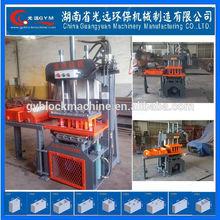 Low investment high profit business GYM-QTY2-20 manual interlocking paver brick making machine