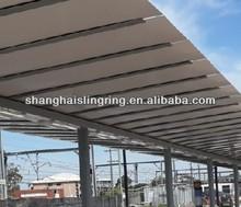 Street service equipment solar bus shelter / car carports manufacturer