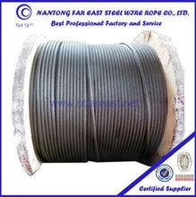 35w*7 galvanized steel wire rope price