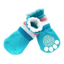 Size Medium Dog Cat Pet Chihuahua Anti-Slip Socks Paw Protection Shoes Clothing