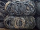 Scrap Tyres (tires) in Bales and loose