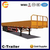 China top one trailer sale side wall trailer cargo truck trailers