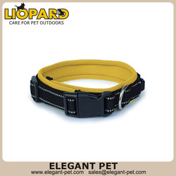 pet accessory,reflective padded dog collar
