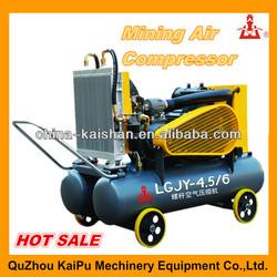 KAISHAN brand High Efficiency LGJY Series Mini Portable screw type air compressor