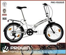20 alloy 6speed folding bike/ cheap folding bicycle(PW3-FD20101)