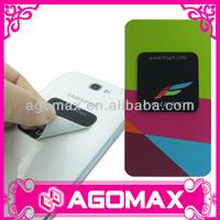 Personalized microfiber sticker mobile screen cleaner