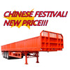 2015 new lorries price! used 3 axle 40ton/60ton cargo semi trailer
