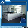 2014 HOT venta Mott Lab muebles, montado en el piso lleno de polipropileno soldada estación de trabajo