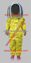 Alta qualidade kids apicultura terno/ternos para crianças/crianças apicultores macacão com véu fancy