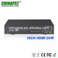 H. 264 16ch tempo real +hdmi +vga porto porto gravador de vídeo online pst-dvr416h
