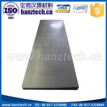 China alibaba wolfram price pure tungsten plate