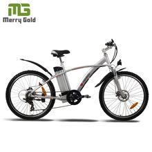 ราคาถูกสีเขียวภูเขาจักรยานชิ้นส่วนรถจักรยานไฟฟ้า350wมอเตอร์มี