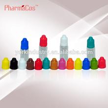 transparent PET 10ml Plastic bottle with short dropper and childproof cap,empty liuqid bottle10ml