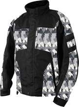 Winter camo snowmobile jacket waterproof winter atv jacket