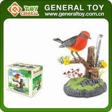 Bird, Sound control singing birds, Plastic toy bird
