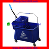 24L High Quality Plastic Small Mop Bucket With Wringer