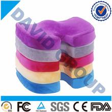 High Quality Beauty Lady Coccyx shape memory foam Seat cushion