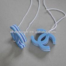 Custom shaped / design eva foam key ring, eva floating key chain for promotion gift