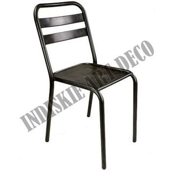 Industrial metal dining chair buy vintage industrial metal dining