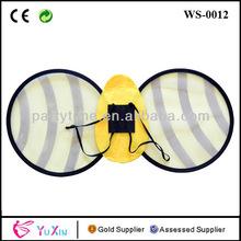 grossisti halloween giallo Bumble Bee ali per le ragazze