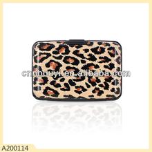Leopard wallets man printed