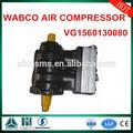 sinotruk piezas del carro piezas del motor de doble cilindro compresor de aire wabco vg1560130080
