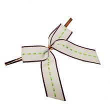 Christmas wire twist tie mesh bow