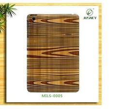 2014 new fashion wood cover for mini ipad wood case