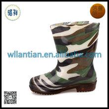 Kid Cheap Camo Rain Boots