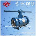 Flanged Floating API forged ball valve150LB WENZHOU 1014 valve factory