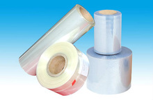 pvc heat shrinkable film with glue for printing grade/package cap