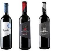 Red wine bottling.