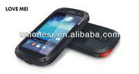 Love Mei 0.7mm Ultra-thin Metal Case Cover For Samsung Galaxy S4 Mini