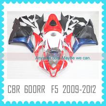 For CBR600RR F5 2009 2010 2011 2012 Motorcycle ABS custom racing fairing kit body kit body work