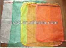 Newly design mesh drawstring bag from China